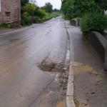 Hochwasser, Straße